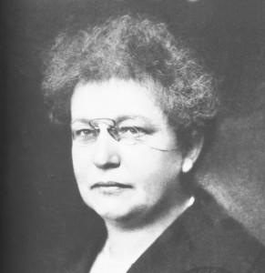 Therese Schlesinger (VGA/ AZ-Bildarchiv)